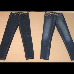 WHBM Skinny Leg Jeans, Size 4L